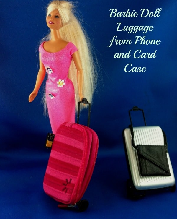 DIY Barbie Suitcase Luggage 2
