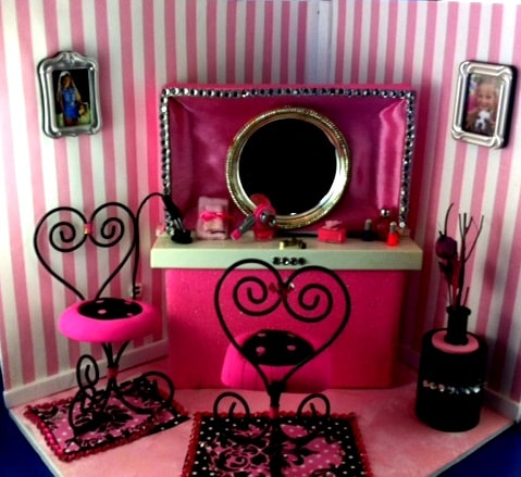Barbie Doll DIY Hair Salon