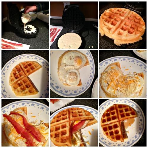 How To Pac-Man Waffle Sandwich Supreme