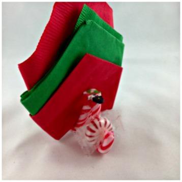 DIY Candy Cane Napkin & Mint Holder www.starrcreative.wordpress.com