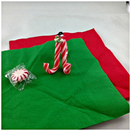 Candy Can Napkin and Mint Holder
