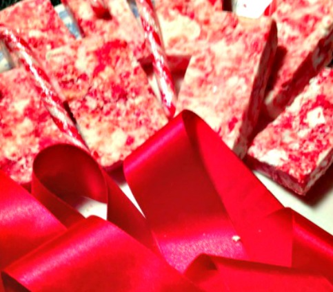 Christmas Easy DIY Soap Bars #Christmas #soap #craft #candycane #easy #DIY #soapholder #handmade.jpgb