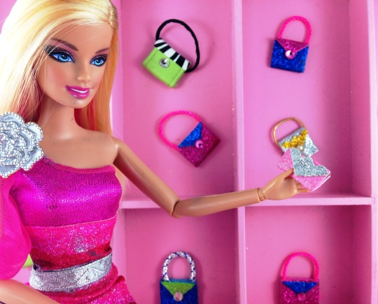 How To Make Easy Sparkling Barbie Doll Purses Beginner
