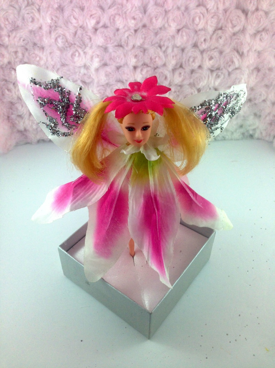 Spring Pink Lily Fairy