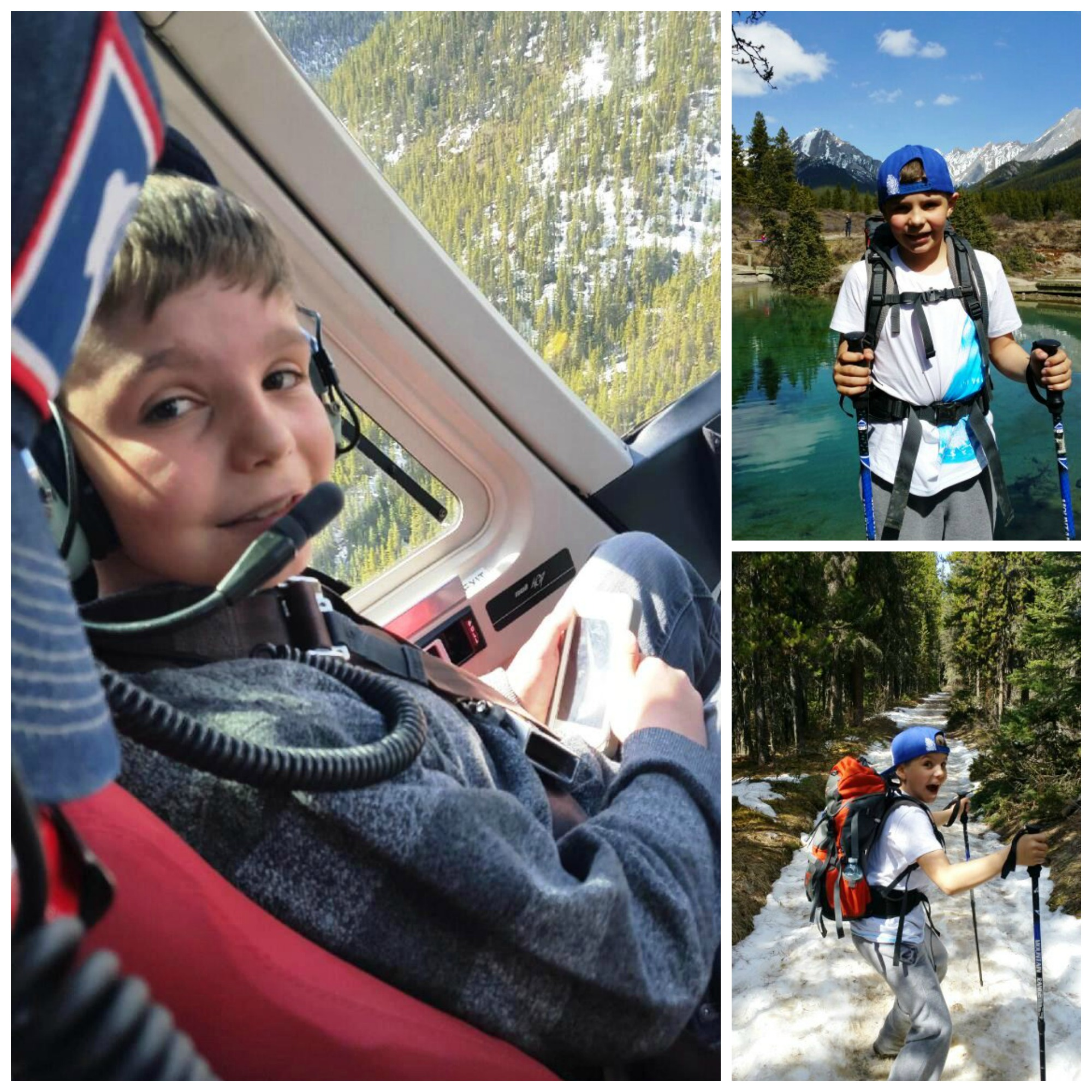 "3 ""Must Try"" Banff Attractions For  Families With Tweens & Teens #Banff #attraction #teens #hiking #helicopters"