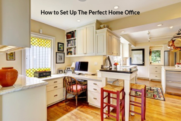 How to Set Up the Perfect Home Office #home_office #home_decor #office #design #workathome