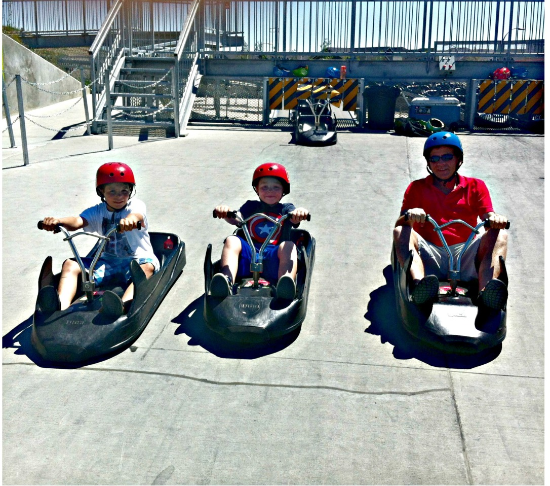 Family Fun At Calgary Skyline Luge - You Have To Try This! #skyline_luge #calgary #family #attractions