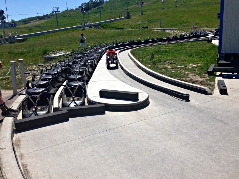 Skyline Luge - Finish Line