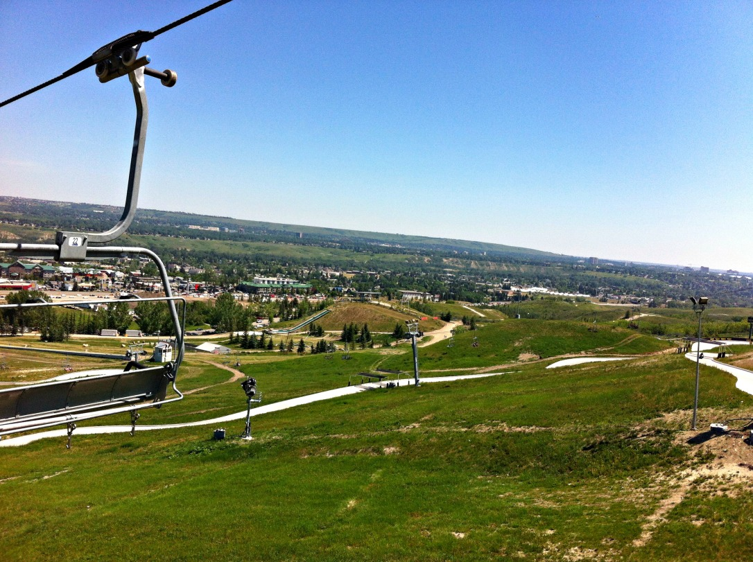 Skyline Luge - View From Chair Lift