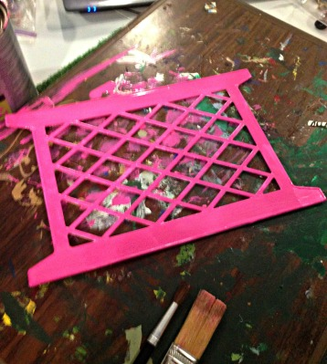 Barbie Patio Set Trellis Construction
