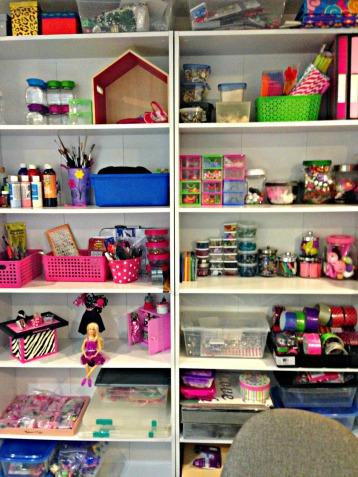 Organize supplies How To Organize A Craft Room #craft_storage #craftroom #craftroom_design #craftroom_organization #multi-purpose