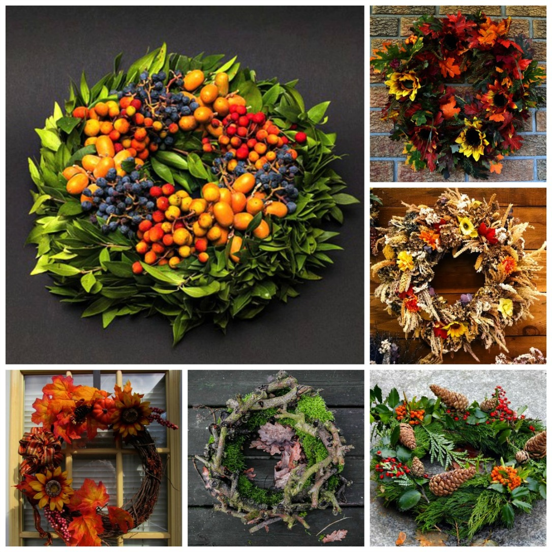 Fall Wreath Inspirations