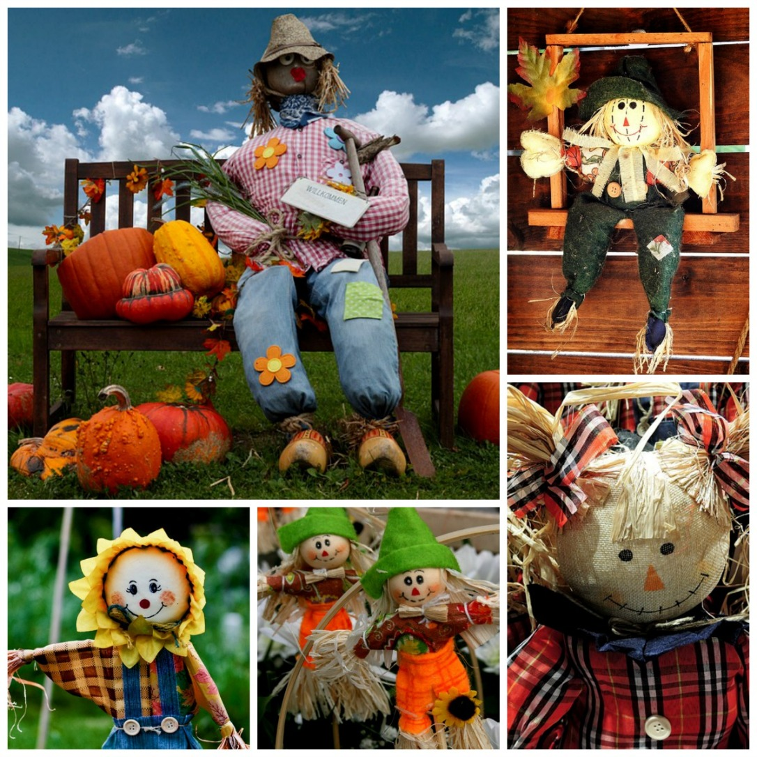 Who Says Scarecrows Have to Be Scary?