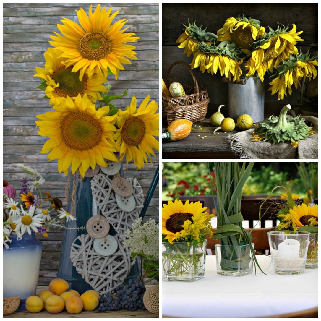 Sunflower DIY Fall Outdoor Decor