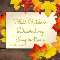 Fabulous Fall D.I.Y Outdoor Decorating Inspirations