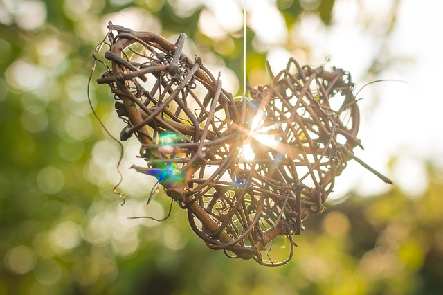 DIY Twig Heart Fall Outdoor DIY Inspirations