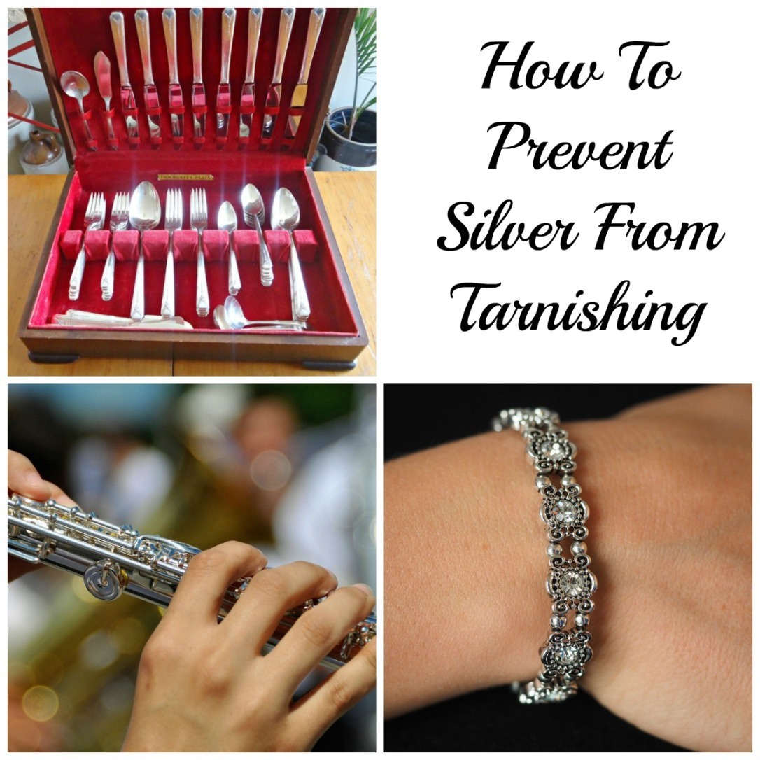 How to keep your sterling silver from tarnishing and polishing tips if you don't! Great for silverware, instruments, jewellery and more! #sterlingsilverjewellery #sterlingsilvercutlery #tarnishprevention #tipsandtricks #chalk tips