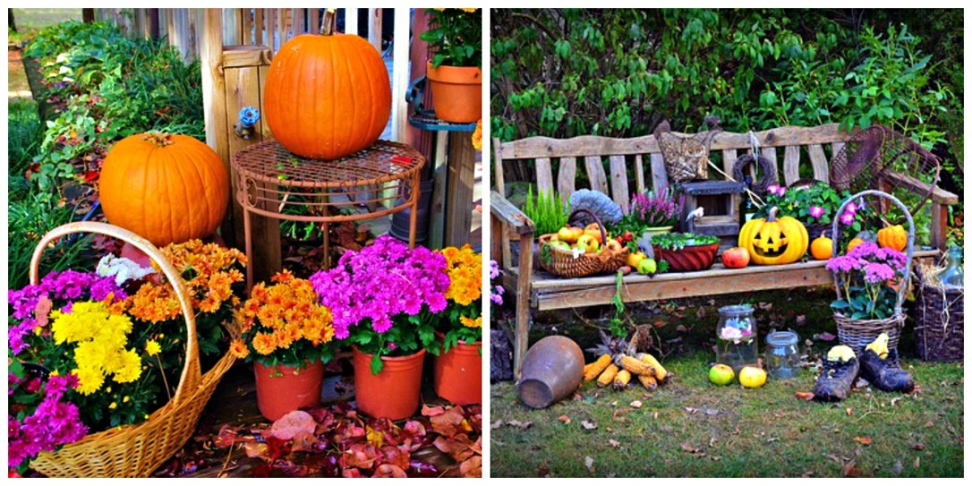 Outdoor Fall DIY Decor Displays