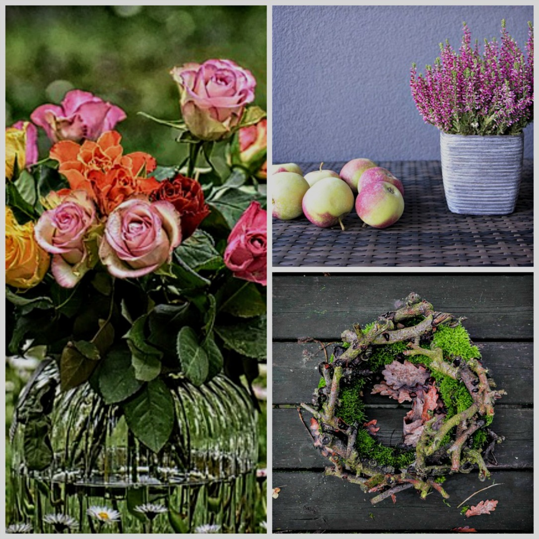 The softer hues of fall outdoor decor inspirations