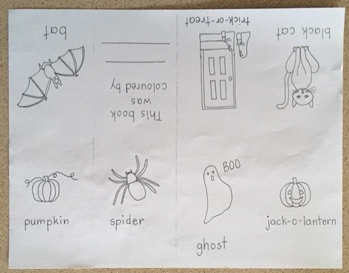 DIY Halloween Coloring Book