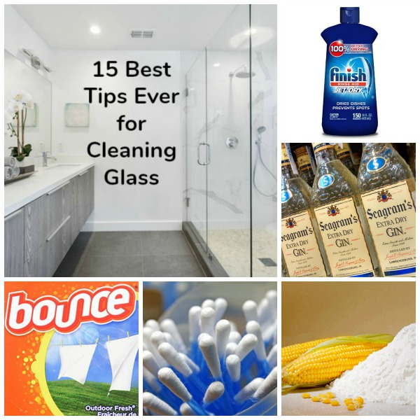 15 Best Glass Cleaning Tips Ever #housecleaning #windowcleaning #tips #mirrorcleaning #cleaningsupplies #streaks #shine #bathroom