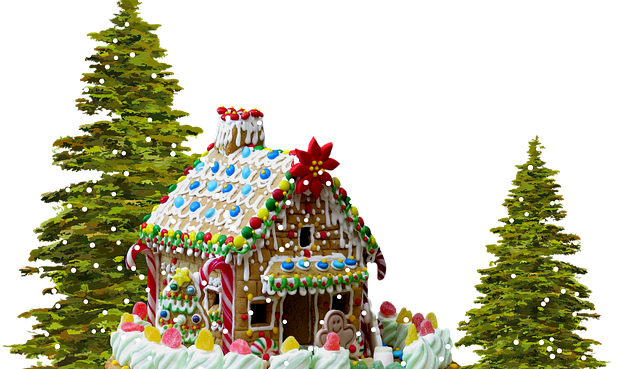 Christmas Gingerbread House  Popular Canadian Christmas Traditions #gingerbreadhouse #Christmas #Canada s #traditions #Newcomers