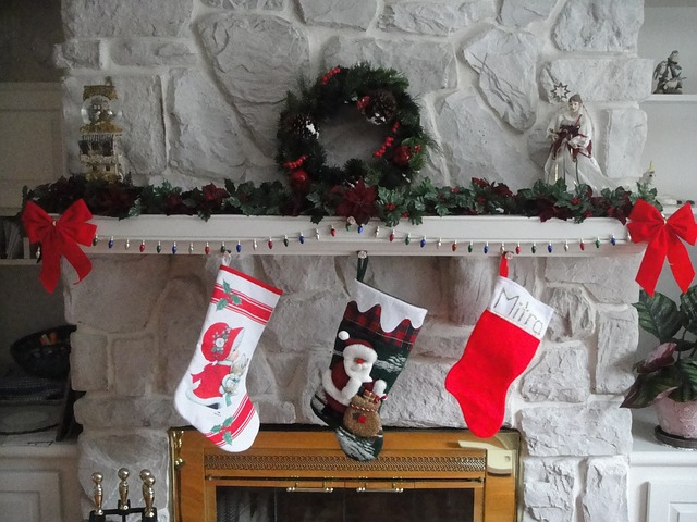 Christmas Stocking Hung for Santa To Put Stocking Stuffers In - A Tradition See More Traditions Christmas Gifts a Canadian Tradition See more traditions. #Christmas #Santa_Claus #Christmas_stockings  #stocking_stuffers#canada #tradition
