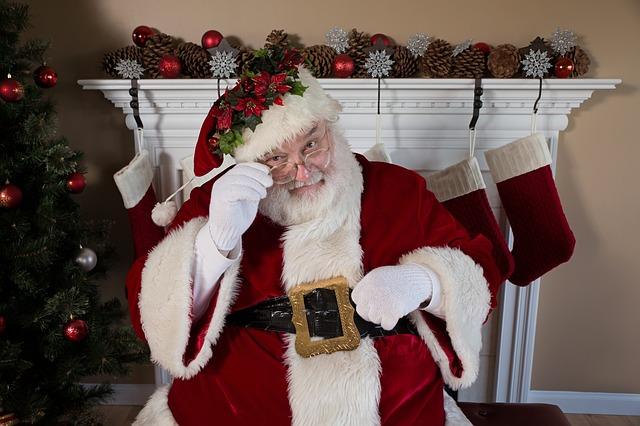Santa Claus a Christmas Tradition - See more traditions #Sant Claus  #Christmas #Traditions #school #holidays