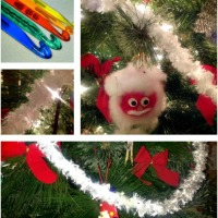 Easy Beautiful Crocheted Christmas Garland