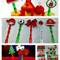 DIY Christmas Appetizer Skewers