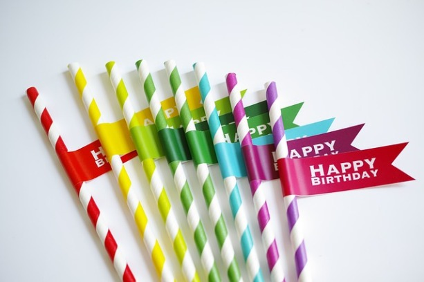 Straws Entertaining inspirations with multi-colored theme. #entertaining #multi-colored #party #decorations #straws