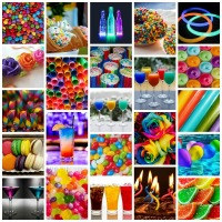 12 Inspirations for Multi-Colored Party Themes