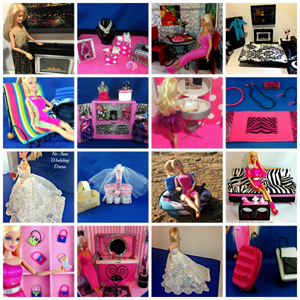 DIY Barbie Doll Crafts & Upcycled Projects. Teach Kids to Make Their Own Toys!