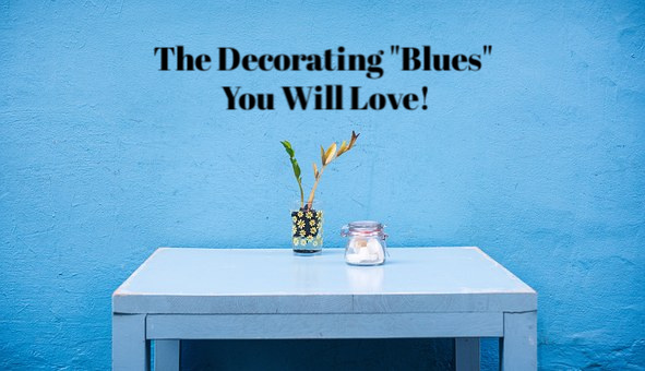 The Decorating Blues You Will Love. Projects and inspirations of blue decor accents and rooms. #home #decorating #blue #interior #design #DIY