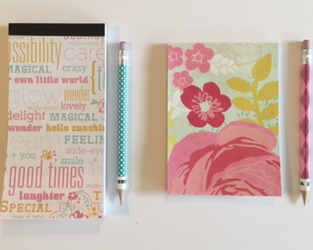 A Note Worthy DIY Project Tutorial on personalized note book covers. #DIY #Notebook #cover