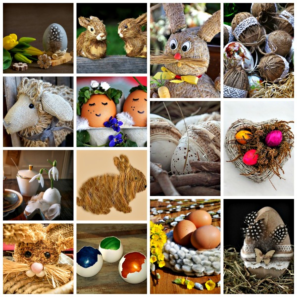 15 Easter Decorating Ideas Using Nature's Supplies — Starrcreative.ca
